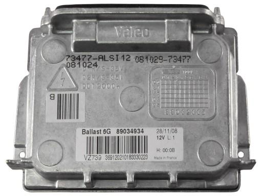 uzdegimo blokas Bi-xenon Citroen C4 C5 6224L8 VALEO
