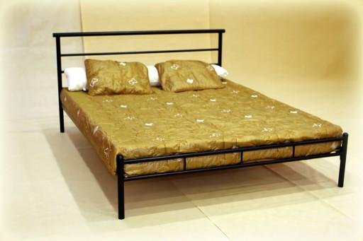 łóżko Metalowe Gabi 160x200 Skandynawski Loft