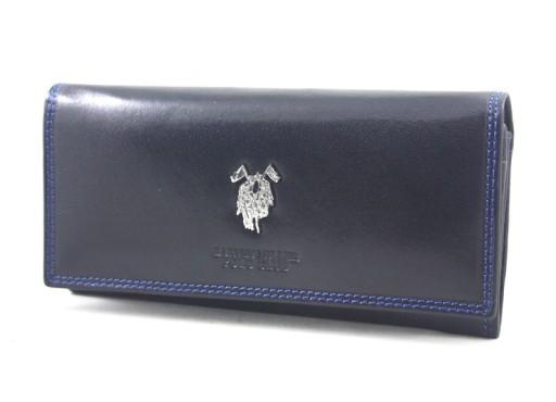 8b0696b9cca31 Skórzany portfel damski Harvey Miller granatowy 7416192388 - Allegro.pl -  Więcej niż aukcje.