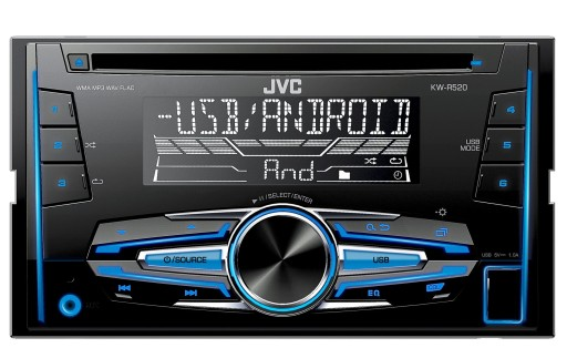 RADIO JVC 2 DIN VW SHARAN TOURAN TRANSPORTER T5