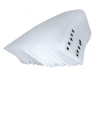 Włóknina Wkład do filltrów Aqua Szut 550/750 10szt