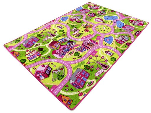 Dywan Ulice Kolor Dziewczynki Dzieci 300x400 3x4