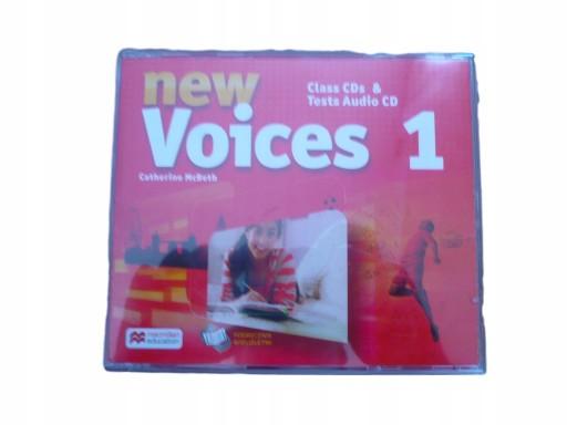 NEW VOICES 1 płyty NAGRANIA NAUCZYCIELA CLASS CD