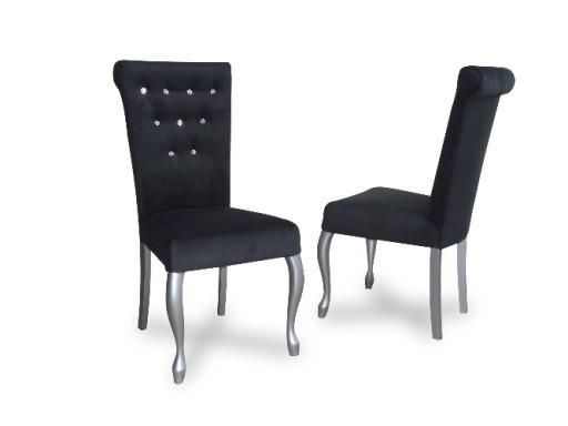 Wspaniały Krzesło Tapicerowane Pikowane K10Y PRODUCENT Salon 6718738625 MN99