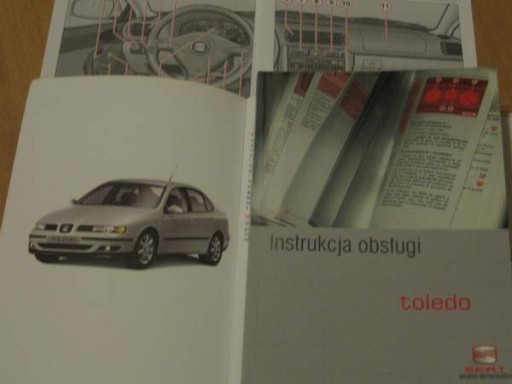 Modne ubrania SEAT TOLEDO II polska instrukcja obsługi 99-04 7436793906 - Allegro.pl KL66