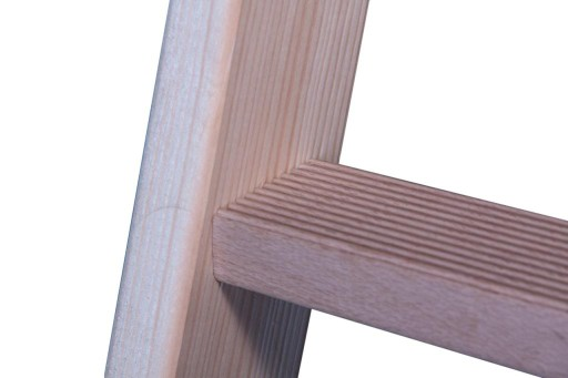Drabina drewniana 2x8 agregat malarski