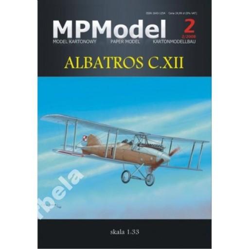 MPModel 2 Albatros C.XII 1:33