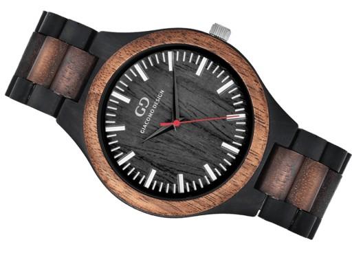 Drewniany zegarek męski Giacomo Design GD08302