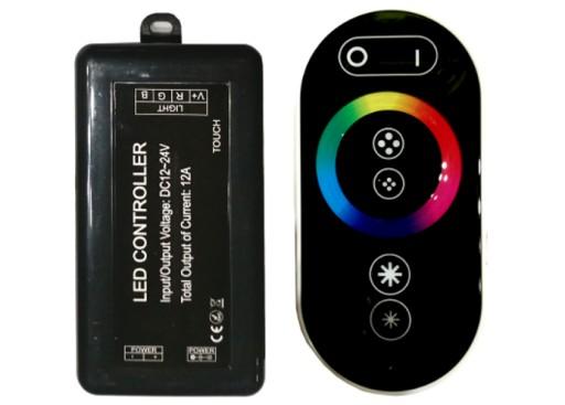 Kontroler RF RGB taśma pasek LED 144W YK-04 300