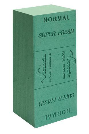 Gąbka florystyczna Normal Super Fresch ŻYWE KWIATY