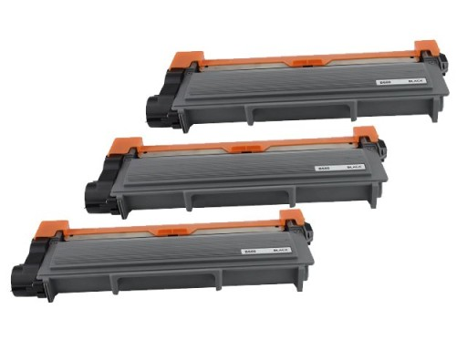 3X TONER BROTHER MFC-L2700DW L2720DW MFC-L2740DW