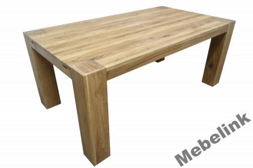 Stół Dębowy Rozkładany Lity Dąb Nicea Super 7540843961