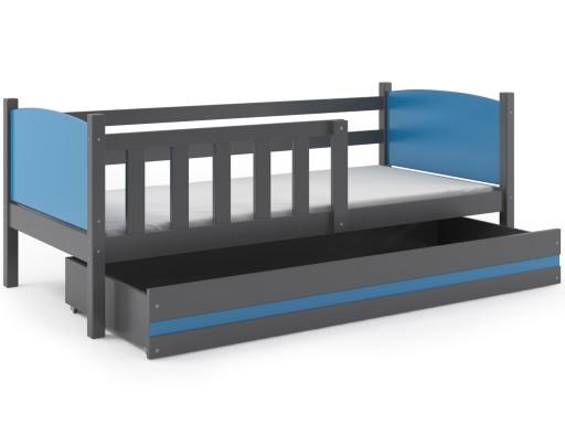 łóżko Dziecięce Tamik 190x80 Parterowe Dla Dzieci