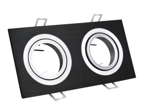 Oprawa stropowa OPAL SOUTH czarna GU10 230V do LED