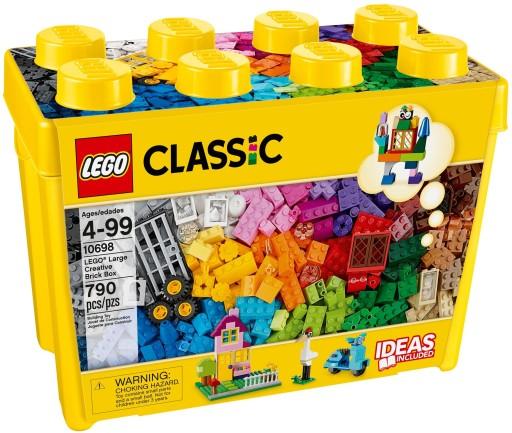 Lego Classic Kreatywne Klocki Duze Pudelko 10698 6893245790 Allegro Pl