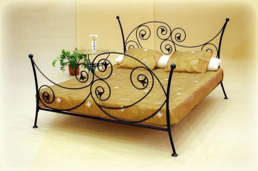 łóżko Kute Aurelia 140x200 Glamour Od Producenta