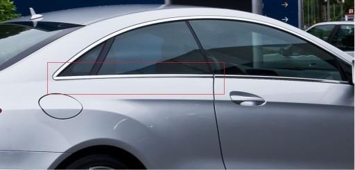 Listwa chromowa w207 coupe prawy tył a2076730283