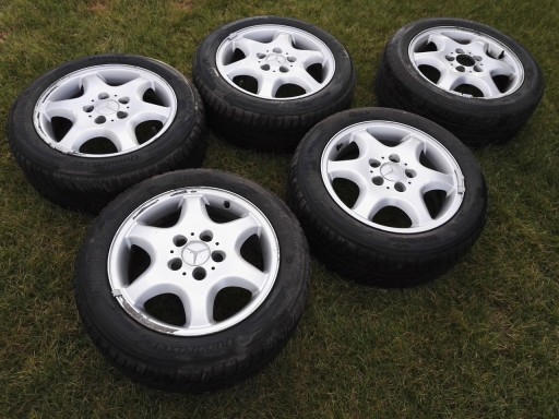 Felgi Aluminiowe 16 Mercedes W202 C Klasa Oryg 6668942087