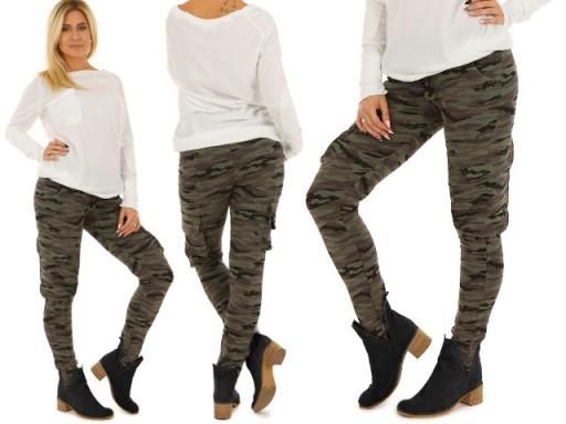 188da3a1bb4a77 M912 BAWEŁNIANE spodnie BOJÓWKI moro NOWOŚĆ L/XL 6515547833 - Allegro.pl