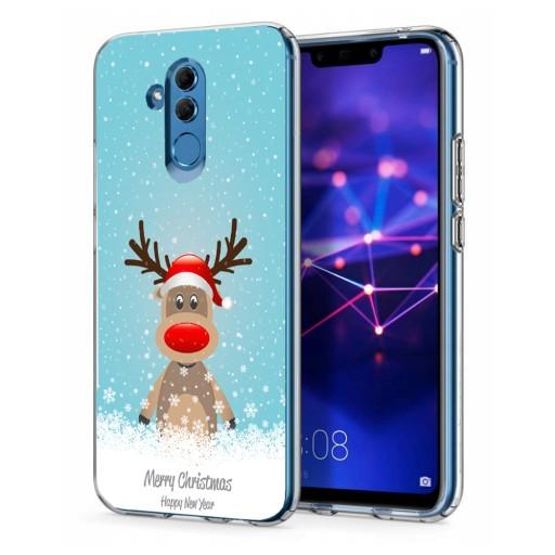 Świąteczne Etui Case do Huawei Mate 20 Lite
