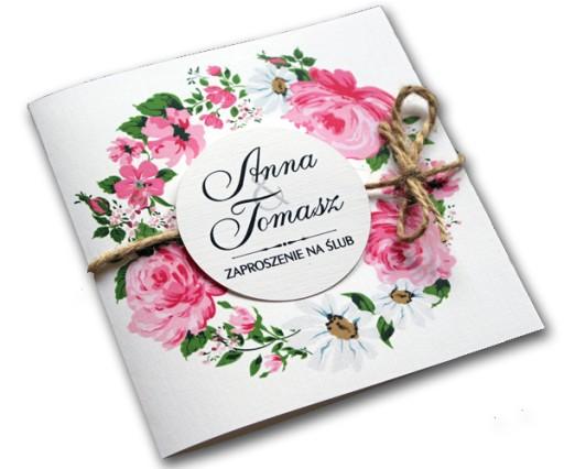 Próbki Zaproszenia ślubne Na ślub Zawiadomienie 6983617888 Allegropl