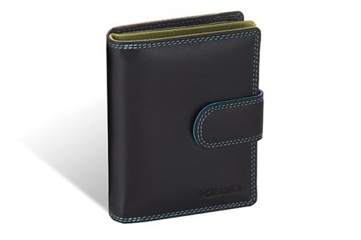 740217a52870f Klasyczny skórzany portfel damski Valentini Colors 7419783834 - Allegro.pl