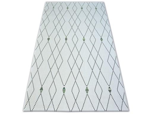 Dywany łuszczów Sznurkowy 120x170 Romby B639