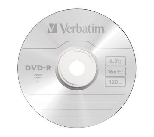 Plyta Verbatim Dvd R 4 7gb 16x 1 Sztuka W Kopercie Sklep Komputerowy Allegro Pl