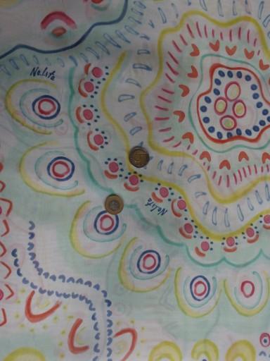 kolorowy  jedwab