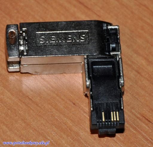 Siemens RJ45 złącze kontowe Profinet Ethernet