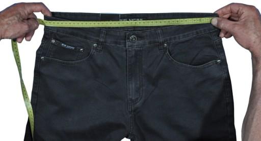 BojÓwki męskie Iteno 1672-1 czarne strecz 112/42 10505913660 Odzież Męska Spodnie QX IOSGQX-5