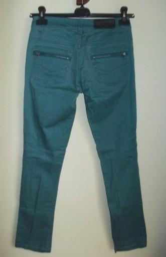 Spodnie rurki ciemno zielone HOUSE ( 36 )