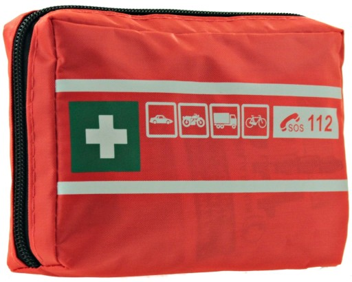 FIRST AID KIT FIRST HELP CAR + INSTRUCTION