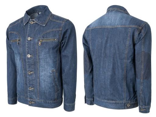 allegro jeansowa bluza meska