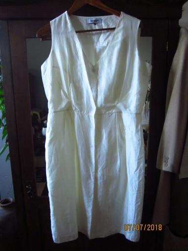 677223ecf6 jedwabna sukienka Monnari jedwab r. 42   44 7444041580 - Allegro.pl