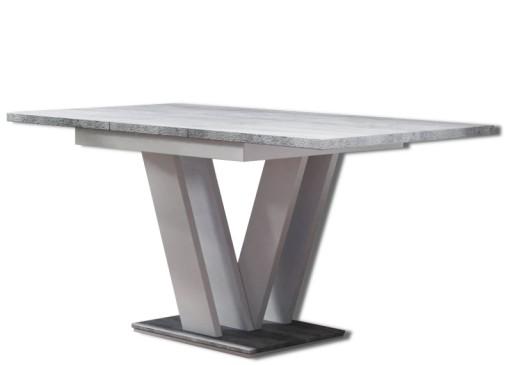Nowoczesny Stół Rozkładany Betonbiały 120 16080