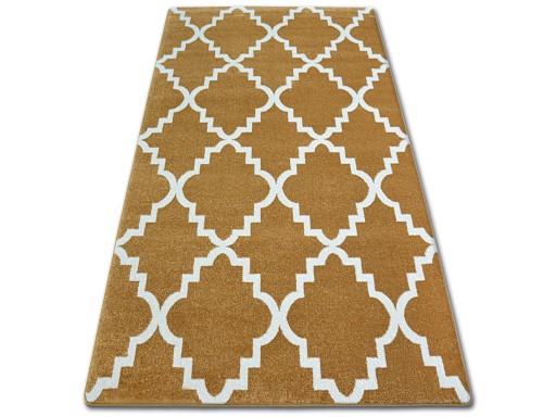 Dywany łuszczów Sketch 180x270 Wzory Złoty Złoto