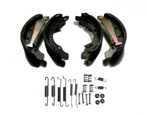 BRAKE PADS + SPRINGS VW POLO GOLF CADDY UP