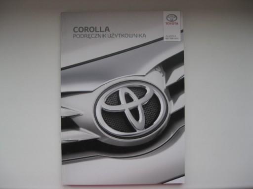 TOYOTA COROLLA E16 Polska instrukcja Corolla 12-16