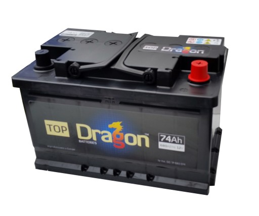 Akumulator Samochodowy Top Dragon 74ah 680a Pruszkow Allegro Pl