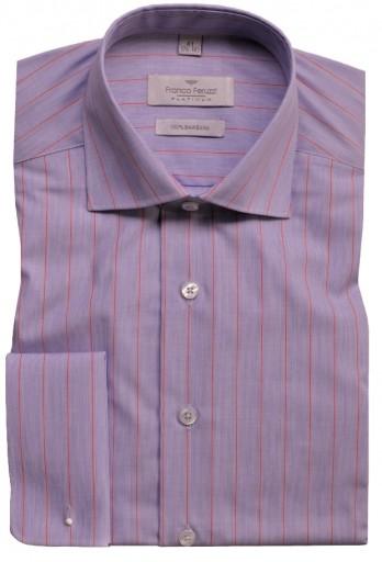 Elegancka męska koszula L 42 176-182 na spinki