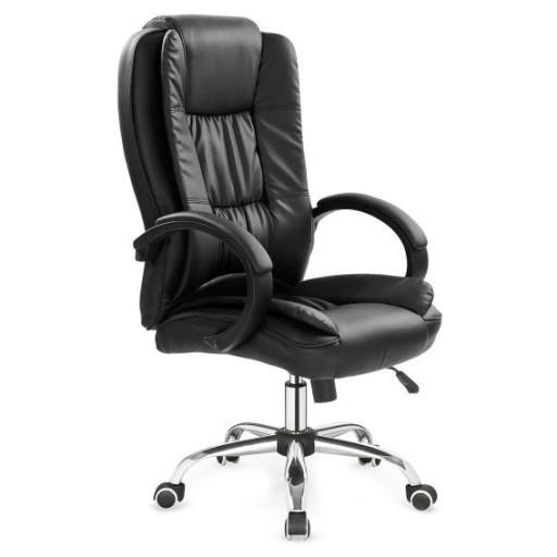 Fotel biurowy RELAX czarny krzesło obrotowe
