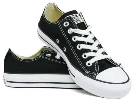 a764a851 Converse All Star M9166 czarne tenisówki rozm.38 7153111462 - Allegro.pl