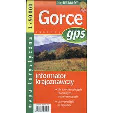 GORCE INFORMATOR TURYSTYCZNY 1:50 000 DEMART