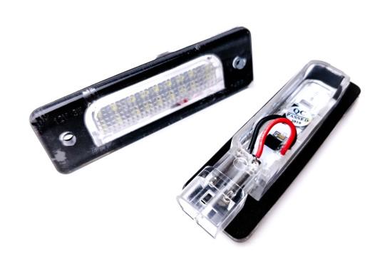 LED ZIBINTAI (LEMPOS-FAROS) APSVIETIMAS NUMERIU BMW E32 i BMW E34