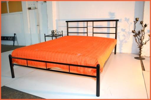 łóżko Do Sypialni Metalowe Gudo 180x200 Industrial