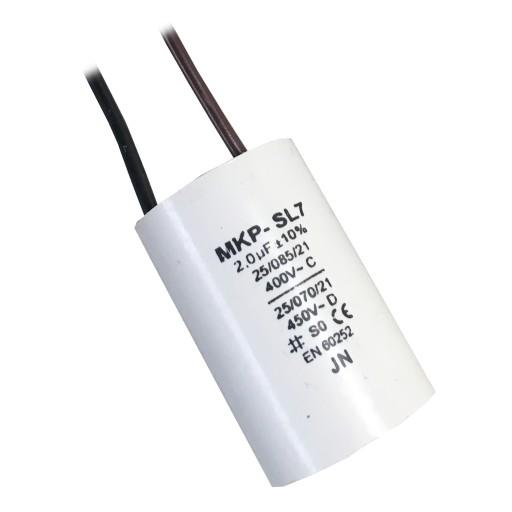 Kondensator rozruchowy do dmuchawy DM120 DM80 2uf