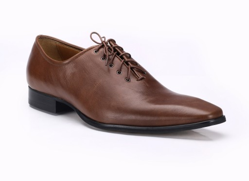8e63b114617bd 39Scarpe-esclusive skóra brązowe buty do garnituru 7863344974 - Allegro.pl