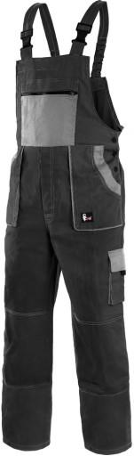 fe03edd36d7360 MOCNE spodnie robocze ogrodniczki 100% BAWEŁNA 50 6003037364 ...