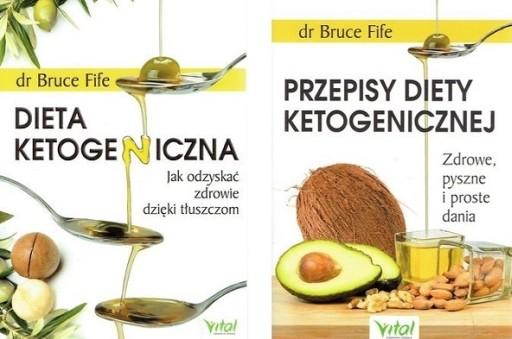 Dieta Ketogeniczna Przepisy Bruce Fife Nowa 7544152381 Allegro Pl